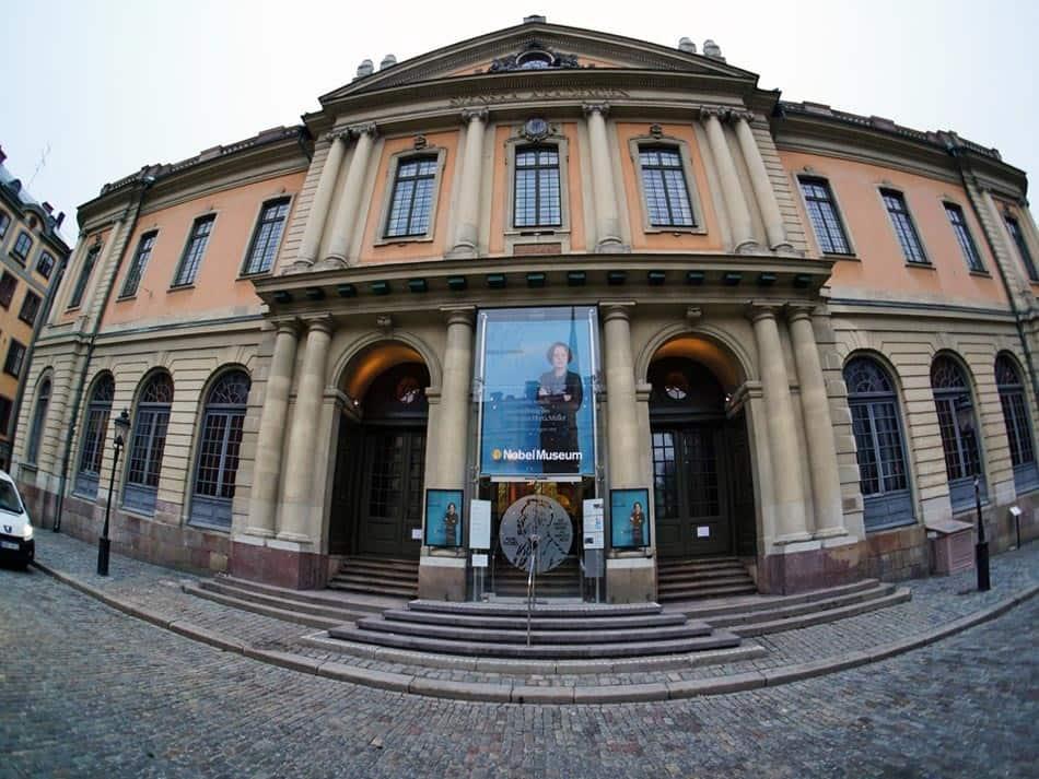 Academia sueca y el Museo Nobel en Estocolmo