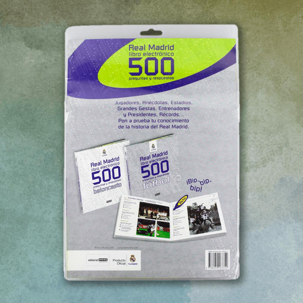 Real Madrid. 500 preguntas y respuestas de Baloncesto