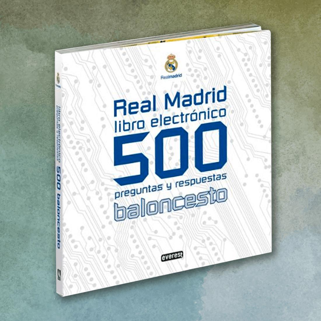 Real Madrid. 500 preguntas y respuestas de Baloncesto - Diego Moldes