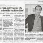 2009-12-18.El Manuscrito encontrado en Zaragoza, Faro de Vigo, Amaia Mauleón, pag 47