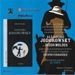 Jodorowsky, presentación Filmoteca de Catalunya, Barcelona, con Fausto Fernández, 9 febrero 2013