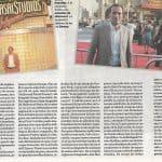 Un pontevedrés en Hollywood, Diego Moldes, Diario de Pontevedra, La Revista, pág 5. 22.07.2007. Recorte 4