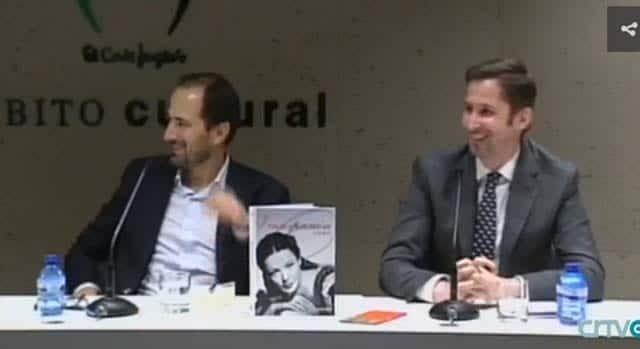 Diego Moldes, en la televisión gallega