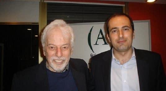 Diego Moldes con Alejandro Jodorowsky