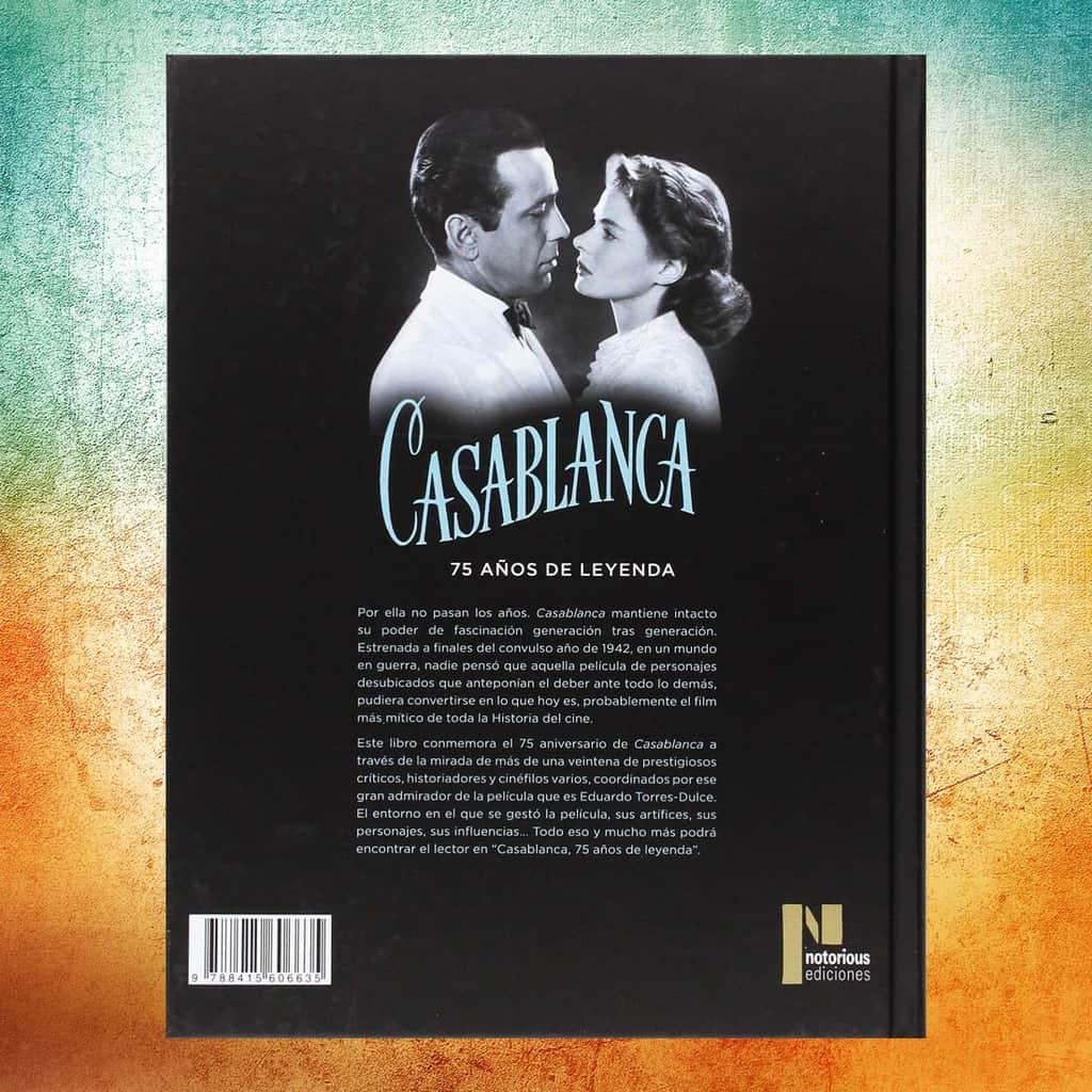 Casablanca. Contraportada