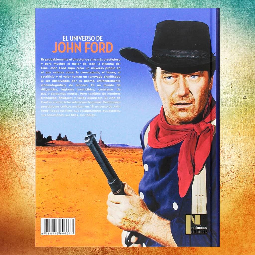 El universo de John Ford contraportda